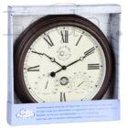 Óra Hőmérővel és Páratartalommérővel - 38 cm