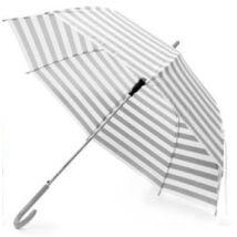 Eva Szürke-fehér Csíkos Esernyő