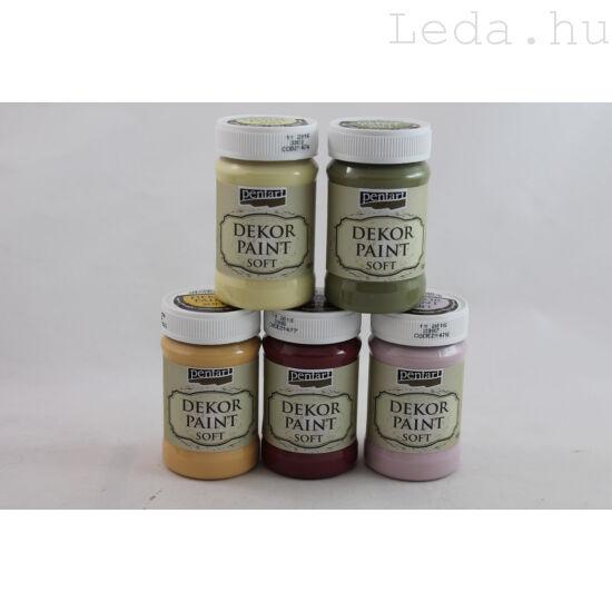 Dekorfesték Soft 100 ml - vegyes színek