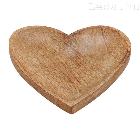 Mango Tálca - Szív alakú - 20 cm