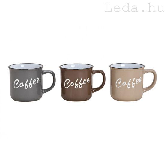 COFFEE Bögre 3 db
