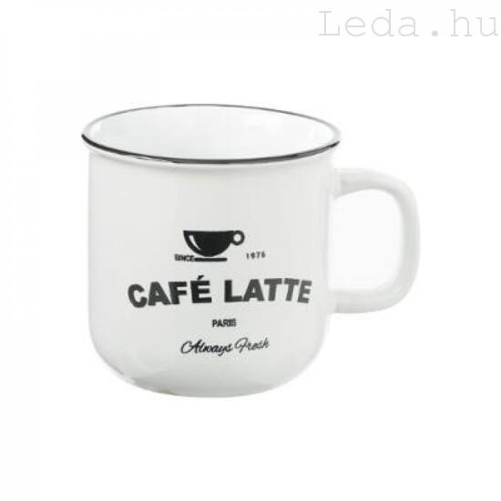 Cafe Latte Bögre - Fehér