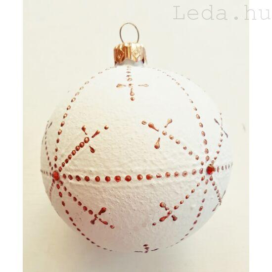 Kézzel Festett Karácsonyfadísz 1