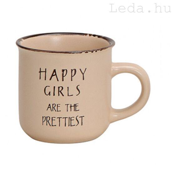Happy Girls Bögre
