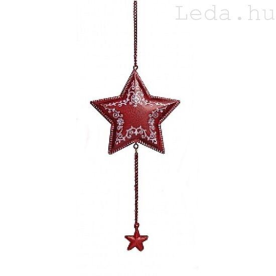 Kiscsillag Girlandos karácsonyfadísz