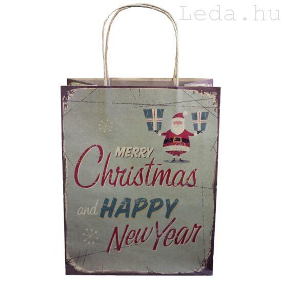 Happy Christmas Díszzacskó