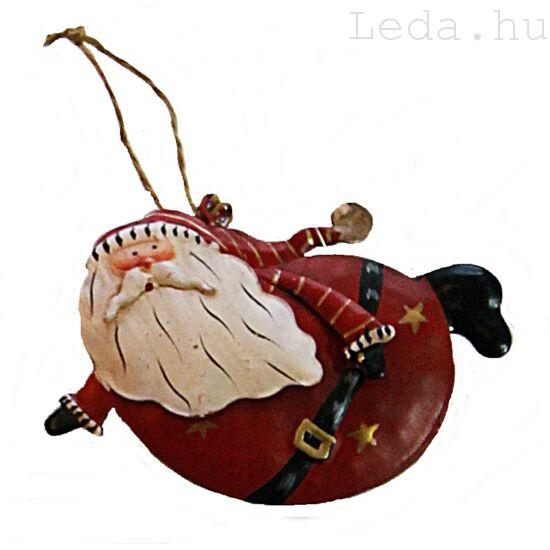 Repkedő Télapó Karácsonyfadísz