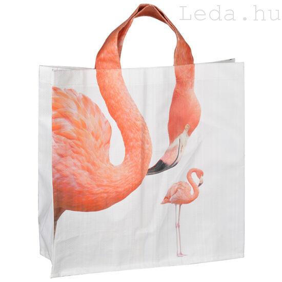 Flamingós bevásárlótáska