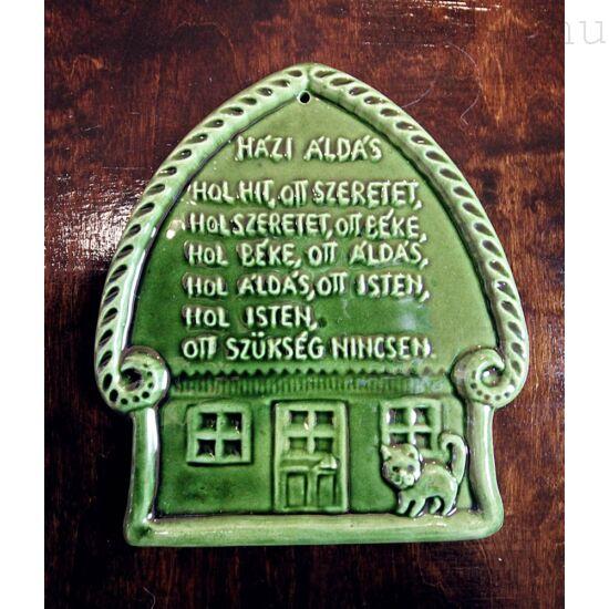 Házi Áldás Zöld Házikó