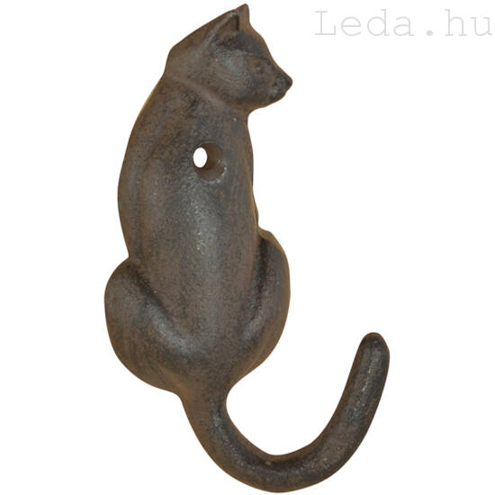 Öntöttvas cicás akasztó