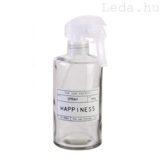 Spirit Utántölthető Fürdőszobai Spray - HAPPYNESS