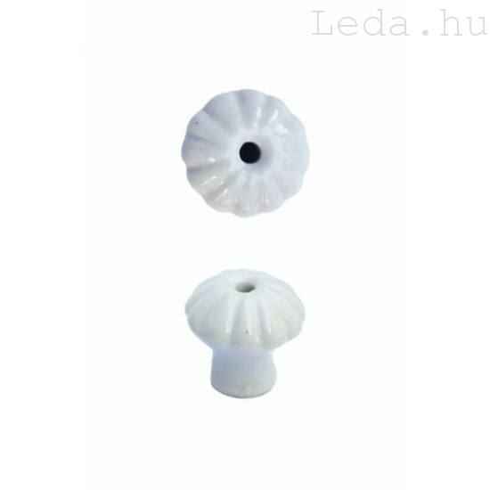Porcelán Gomb