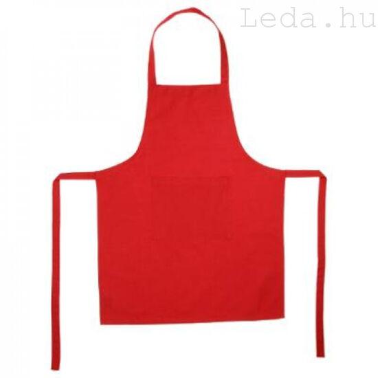 Piros konyhai kötény