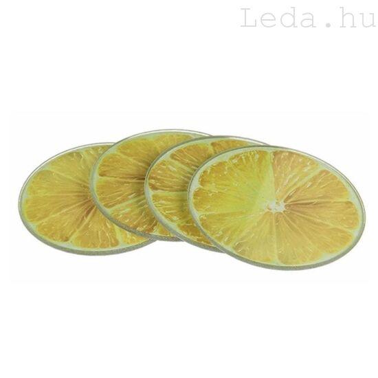 Lemon Poháralátét - 4 db