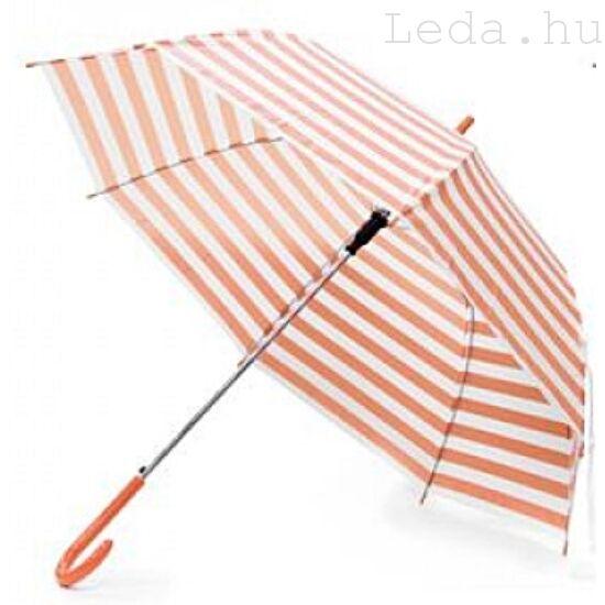 Eva Narancs-fehér Csíkos Esernyő