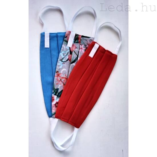 Mosható Textil Arcmaszk L - 3 db