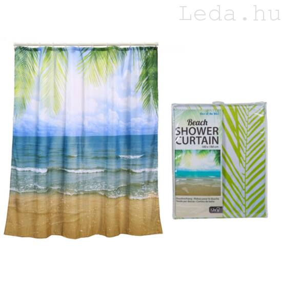 Beach Zuhanyfüggöny